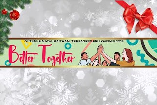 OUTING DAN NATAL BAITHANI TEENAGERS FELLOWSHIP - @KERTALANGU - 1512019