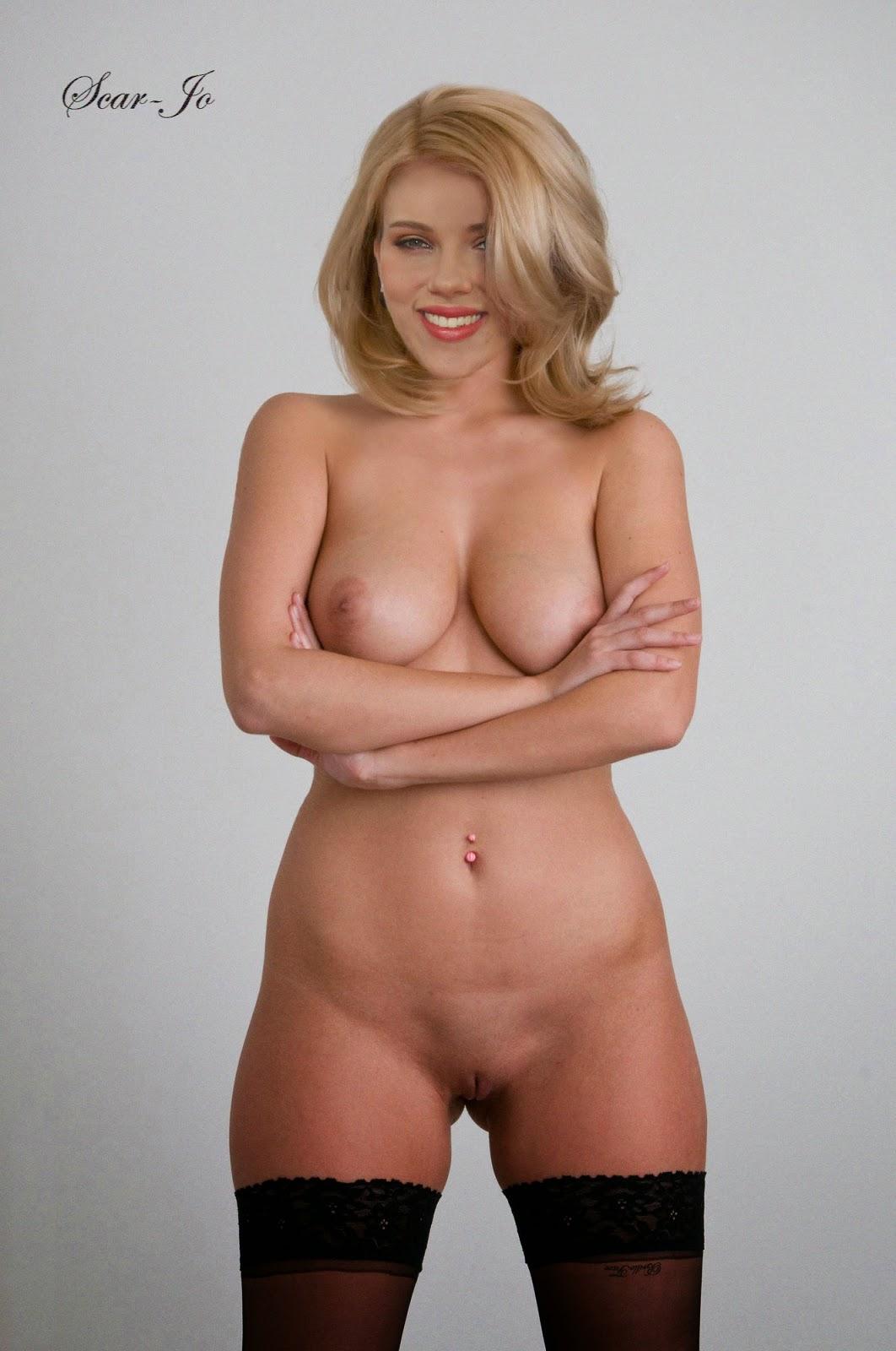 Naked scarlett johansson