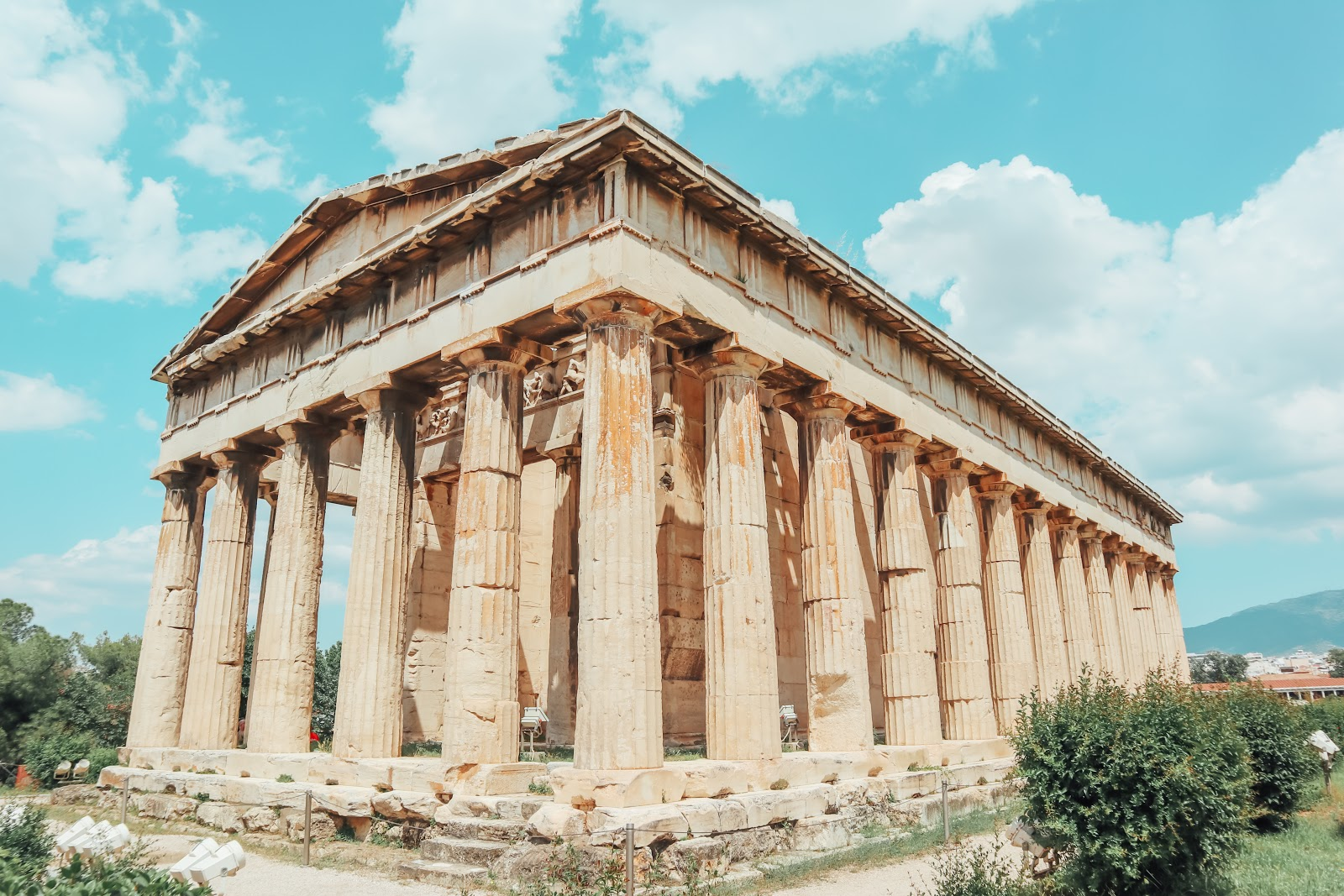 Top touristic sites in Athens