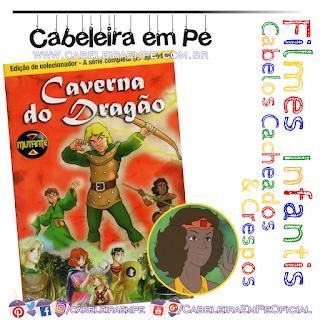 Caverna do dragão - Lembra da personagem Cacheada - Diana, a acrobata