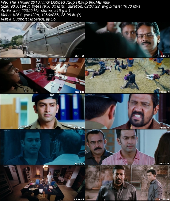 The Thriller 2018 Hindi Dubbed 720p HDRip 900MB worldfree4u