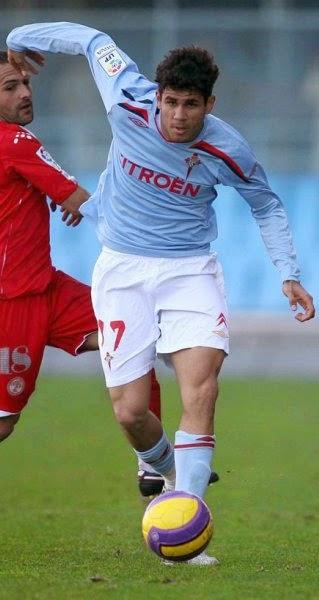 Grandes y pequeños jugadores del Celta de Vigo: DIEGO COSTA