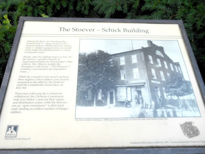The Historic Stoever - Schick Building in Gettysburg