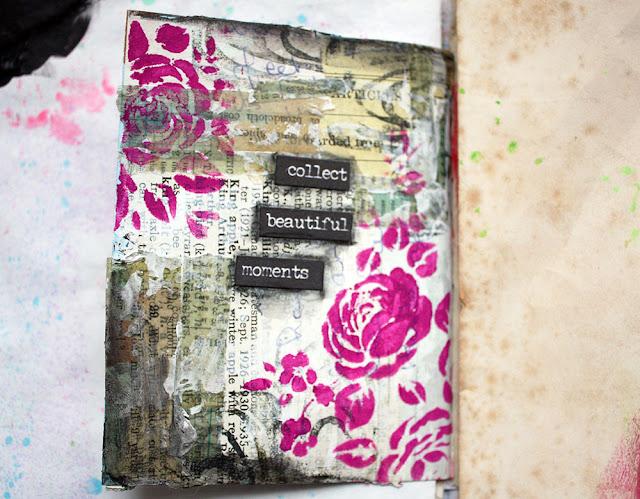 Recent Art Journal Pages