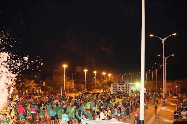 Bruno e Sérgio, realizaram mais um grande comício em Rafael Fernandes no último domingo