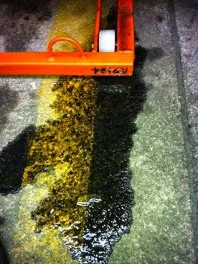 Lifan com Vazamento de óleo, Como Limpar o chão da Garagem.
