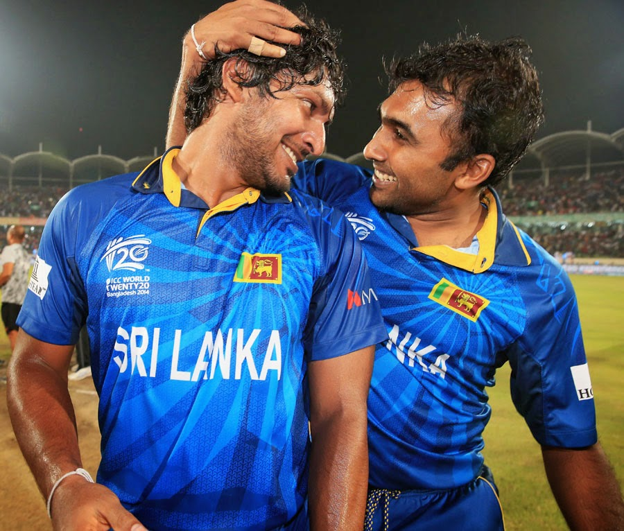Legends Kumar Sangakkara and Mahela Jayawardene were playing their last game of the T20s