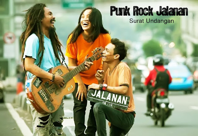 Kunci Gitar Punk Rock Jalanan - Surat Undangan