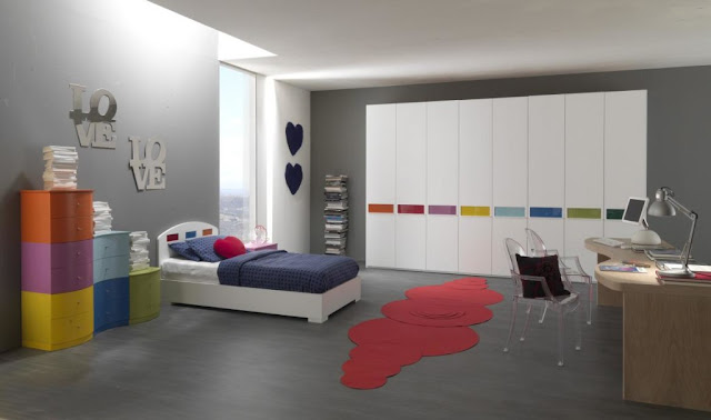 beautiful grey youth room ideas