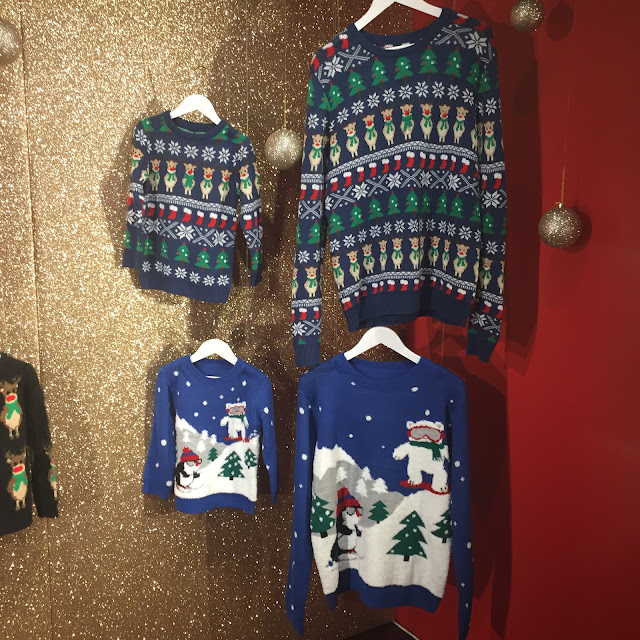 Mini Me Christmas Jumpers range from Nutmeg at Morrisons
