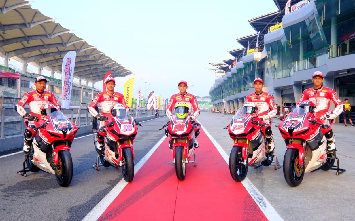 Asia Road Racing Championship Round 2 : Australia Menanti Astra Honda Racing Team
