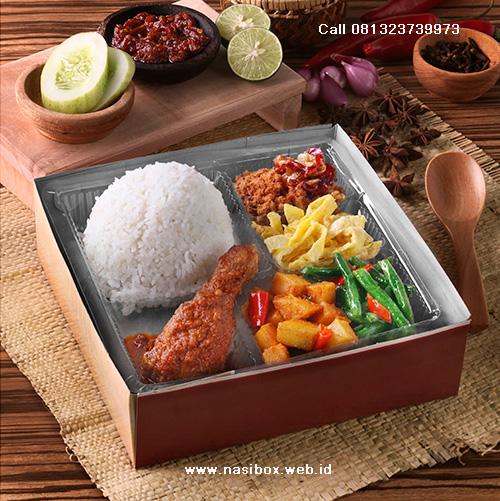 Nasi box special di ciwidey
