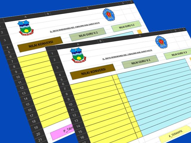 Aplikasi Canggih Olah Nilai Siswa SMP/MTs Kurikulum 2013