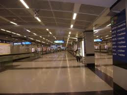 Delhi Metro platform - Fully polished granite surfaces