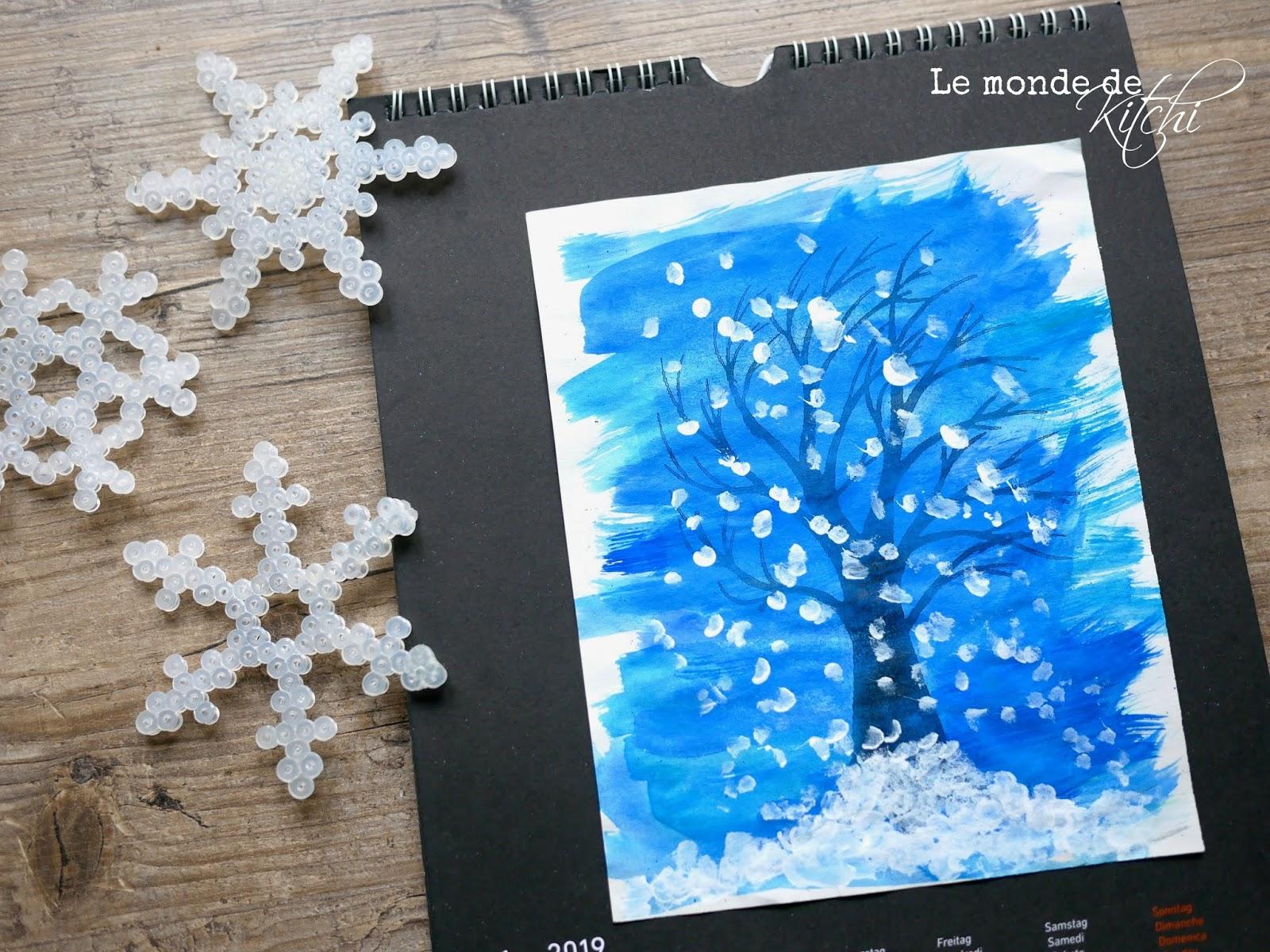Le Monde De Kitchi Ich Male Mir Den Winter