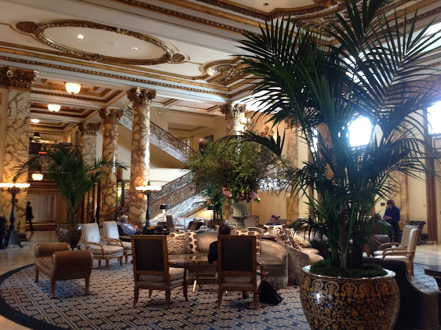 Fairmont Hotel lobby