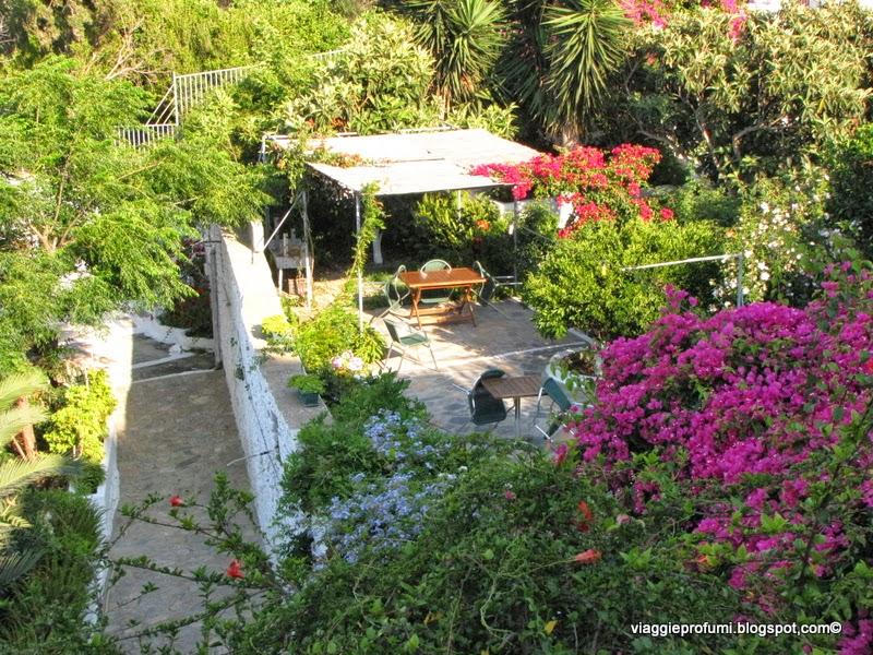 Amorgos, giardino degli Studios Anna