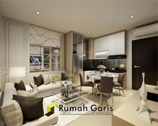 rumah garis jasa interior apartemen jakarta surabaya