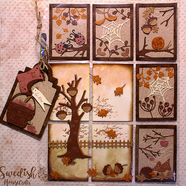 "Autumn Is Here - featuring ""Fall In Love"" die collection by Magnolia 