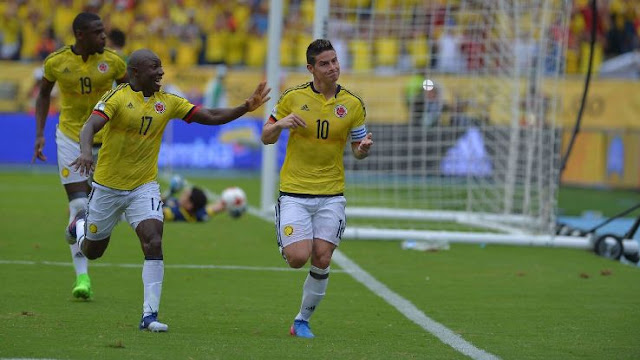 Colombia 1-0 Bolivia eliminatorias Conmebol Rusia 2018