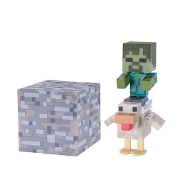 Minecraft Series 3 Chicken Jockey Overworld Figure