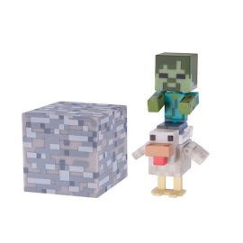 Minecraft Chicken Jockey Overworld Figures