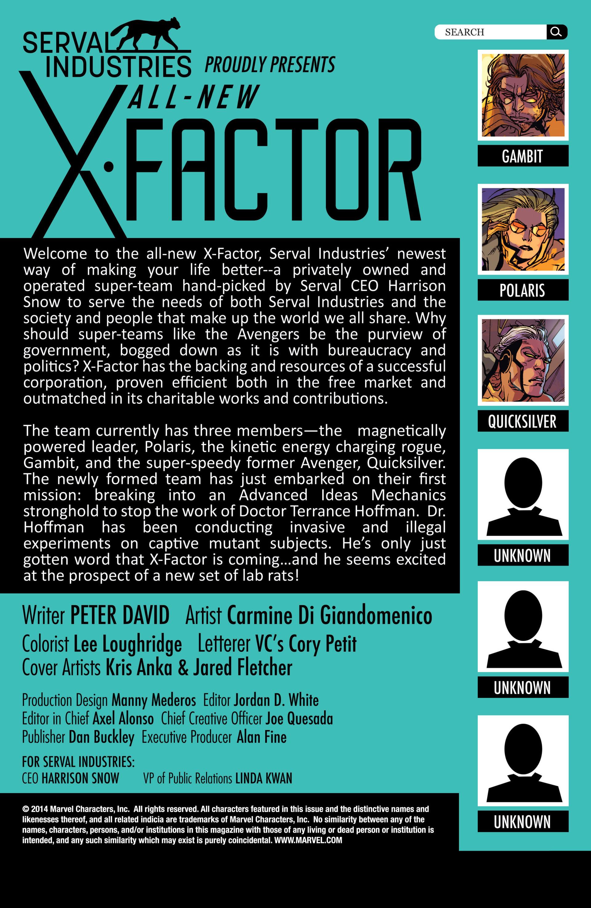 Read online All-New X-Factor comic -  Issue #2 - 2