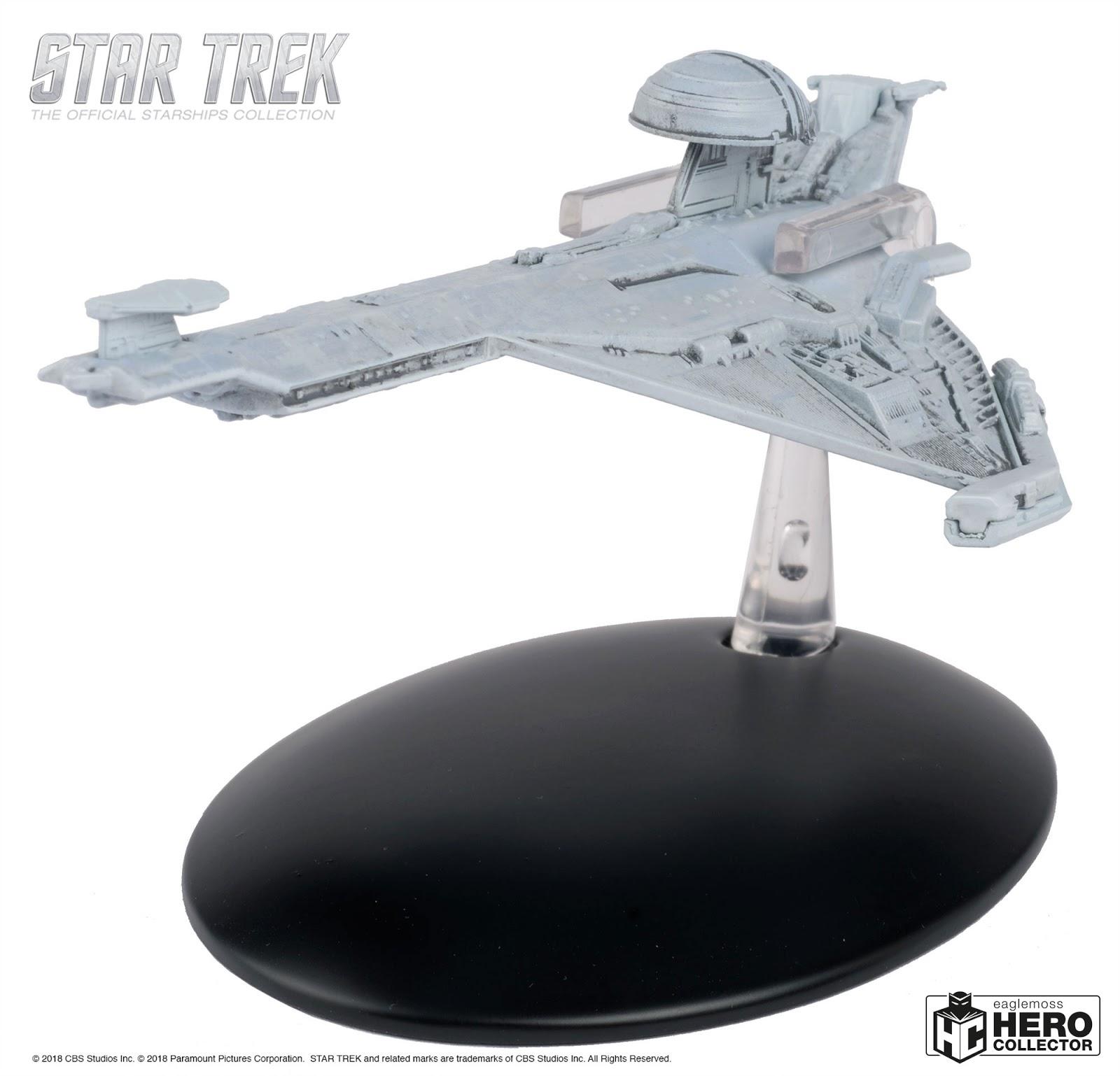 Vulcan T/'Pau Apollo-class starship Star Trek Eaglemoss w//Magazine Iusse 141