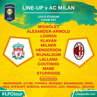 Streaming Liverpool FC Vs AC Milan International Champions Cup Berita Bola Streaming Liverpool FC Vs AC Milan International Champions Cup