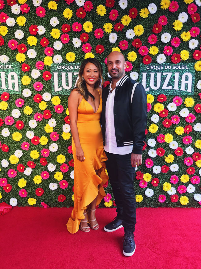 Jennifer Worman, Joel Morales, Chicago Blogger, Cirque Du Soleil Chicago Luzia
