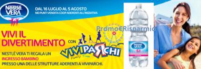Logo Vera ti regala ingresso bambino ViviParchi