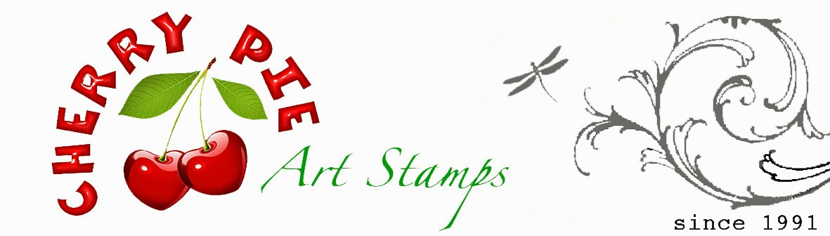 CHERRY PIE ART STAMPS