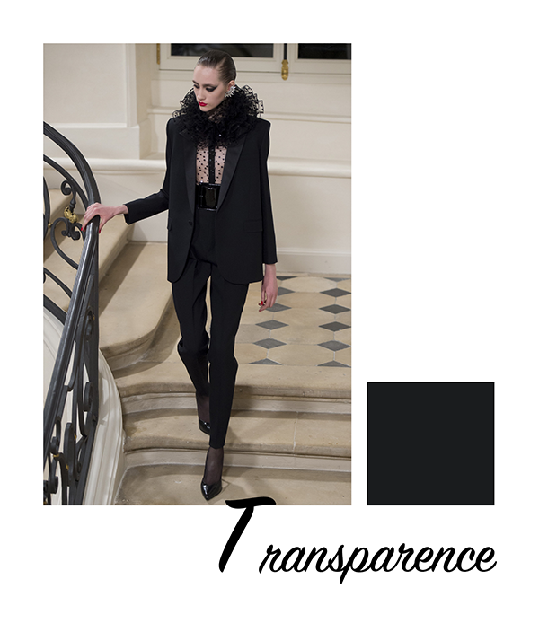 fashion weeks automne 2016 saint laurent transparence clemence m