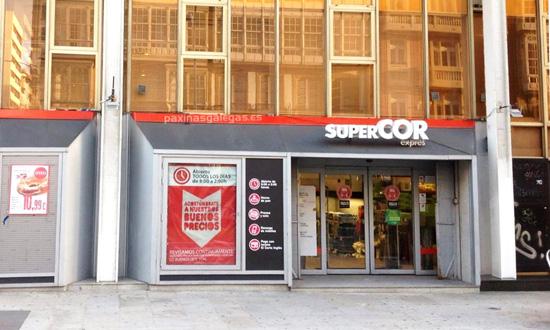 buongiorno A Coruna - Supermercati Supercor