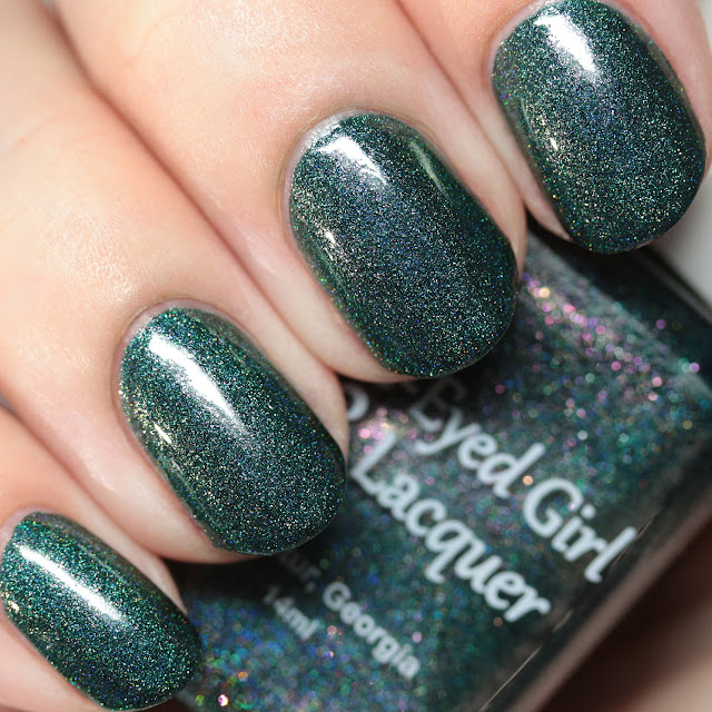 Blue-Eyed Girl Lacquer The Night Tears Us Loose