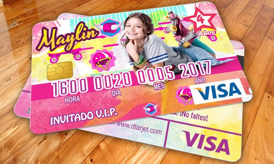 Dtarjet Invitaciones Tipo Tarjeta De Crédito