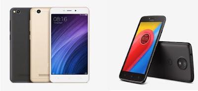 Xiaomi Redmi 4A vs Moto C