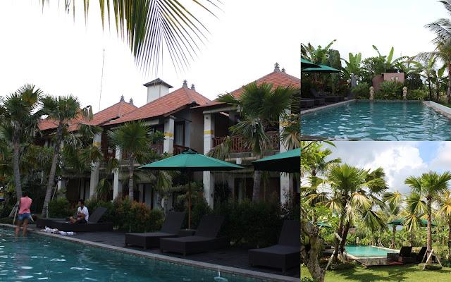 kolam renang ubud tropical garden
