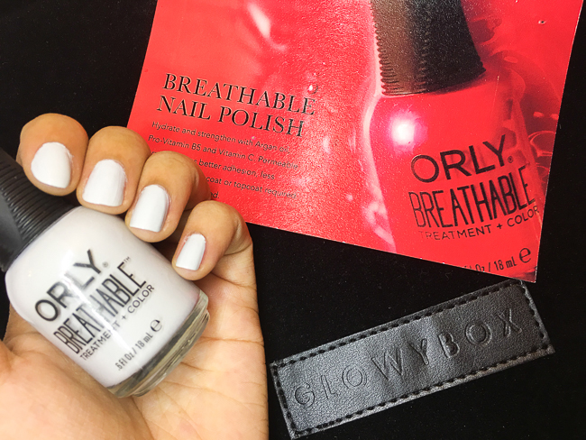 GlowyBox July Box Review ORLY Power Packed