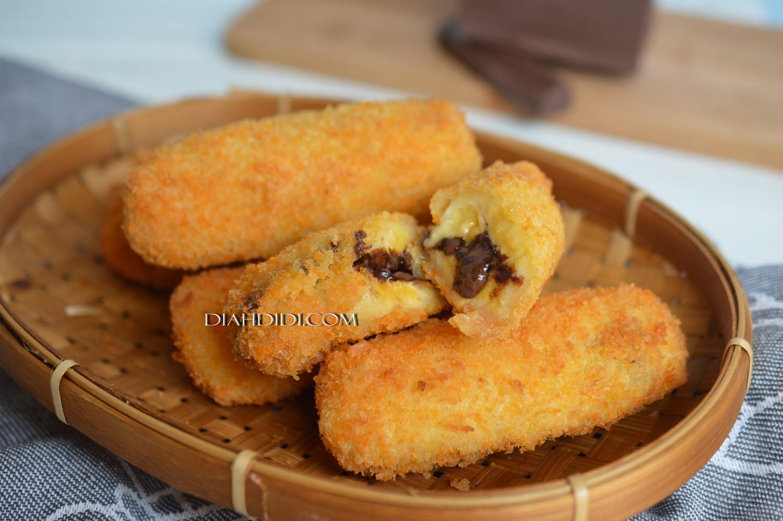 Diah Didi S Kitchen Pisang Goreng Panir Isi Coklat Leleh