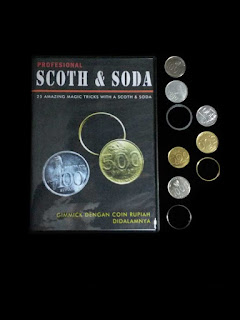 toko sulap jogja Scoth Soda Coin Magic