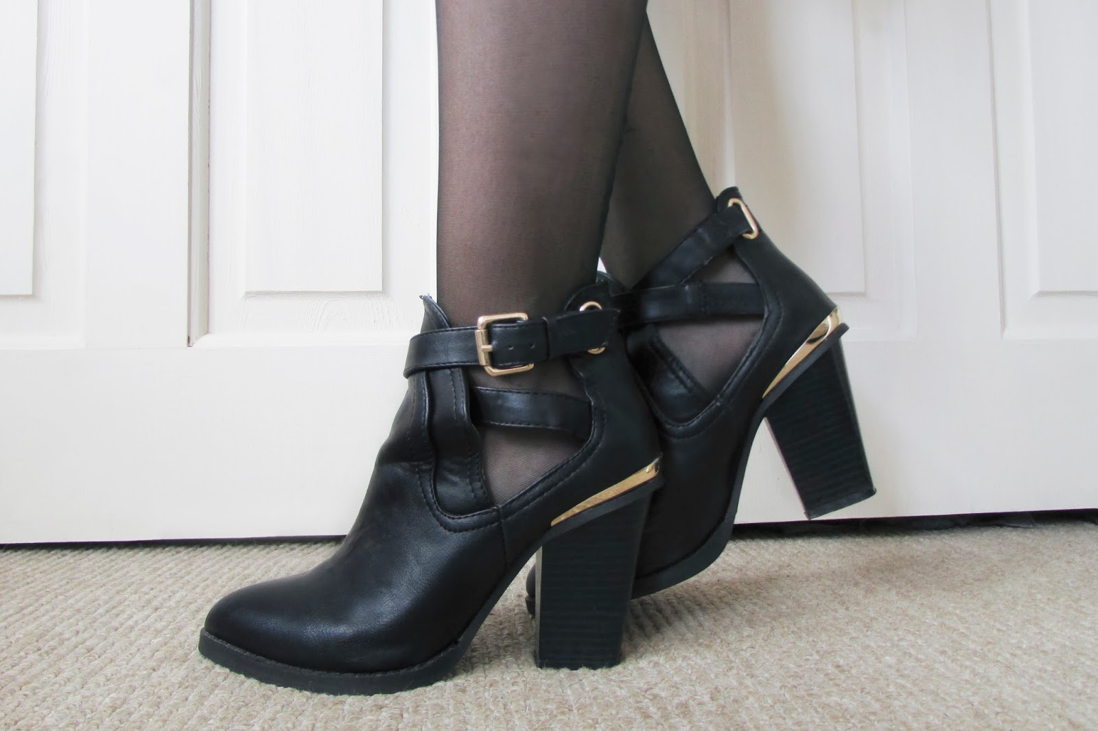 Primark Cut Out Ankle Boots