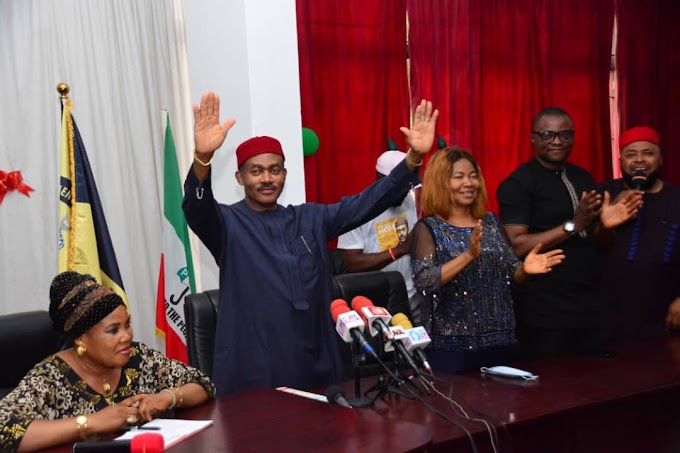 GUBER 2021: PDP Set To Takeover Anambra State As Maduka Submits Governorship Form Amidst Glitz And Hopes