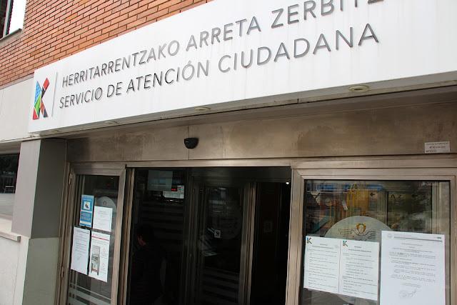 Oficina central del servicio de atención al ciudadano, en el edificio del Ayuntamiento
