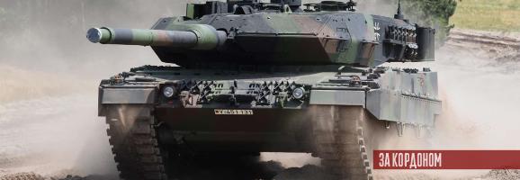 Німеччина модернізує 101 танк Leopard 2 до версії  A7V