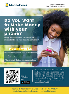 Mobile Forms: Make money with your phone