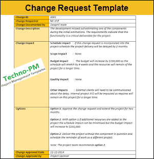 Change Request Template, change request form template, change requests