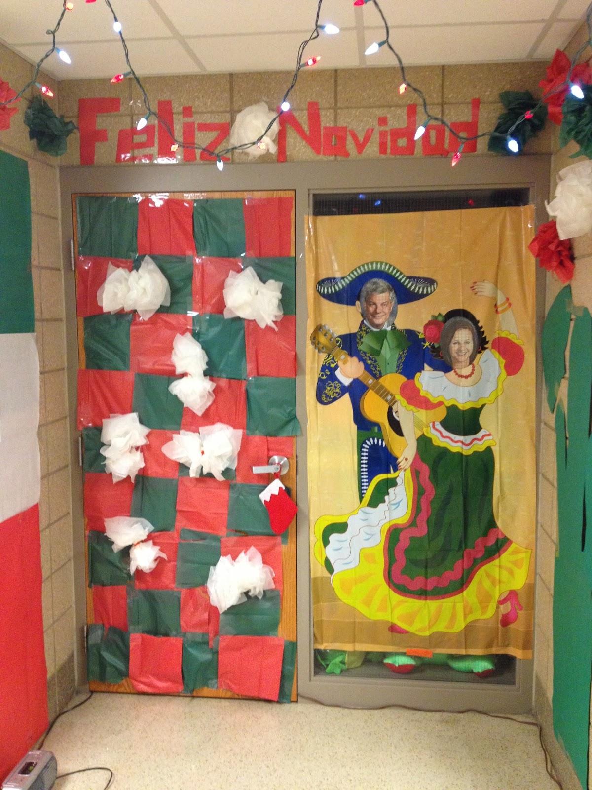 Sheldon Middle School Guidance Class Door Decorating Fun