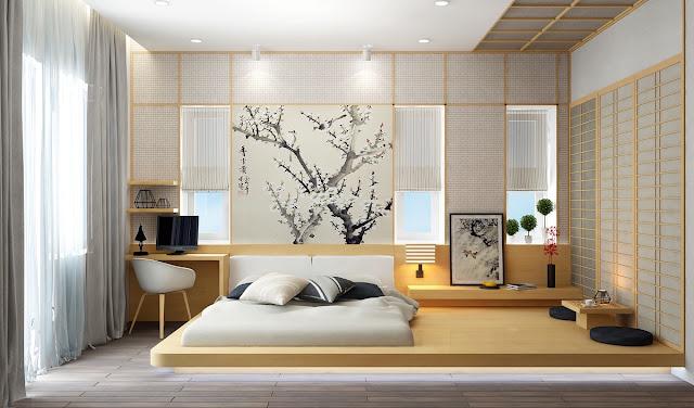 Thiết kế nội thất phòng ngủ căn hộ Ruby City Ct3
