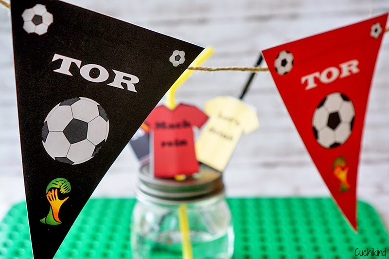 Fußball Wimpelkette